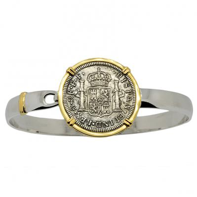 SOLD El Cazador Shipwreck 2 Reales Men's Bracelet; Please Explore Our Bracelets For Similar Items.