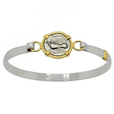 SOLD Dove and Chimaera Triobol Ladies Bracelet. Please Explore Our Bracelets For Similar Items.