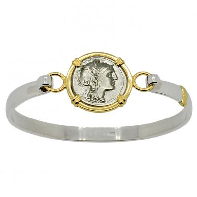 SOLD Roma and Victoria Denarius Ladies Bracelet. Please Explore Our Bracelets For Similar Items.
