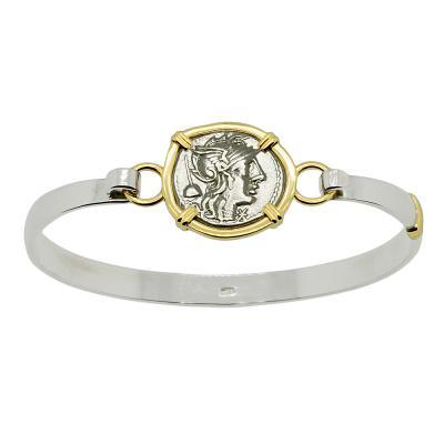 126 BC Roma denarius bracelet