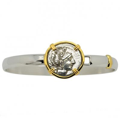 SOLD Roma & Victory Denarius Ladies Bracelet; Please Explore Our Bracelets For Similar Items.