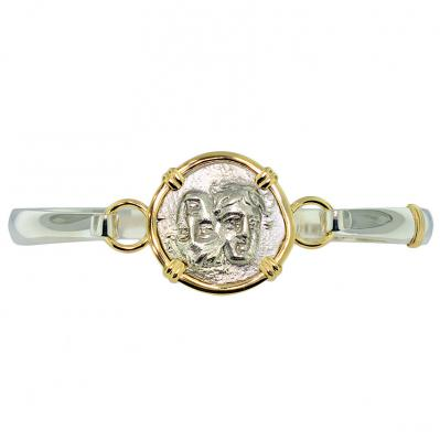 Dioscuri Twins Drachm Ladies Bracelet