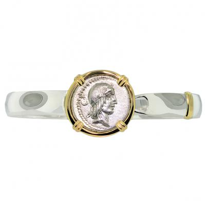 Apollo and Horseman Denarius Bracelet