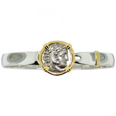 Alexander The Great Drachm Men's Bracelet