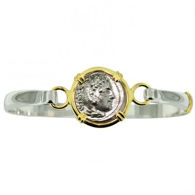 Alexander The Great Drachm Ladies Bracelet