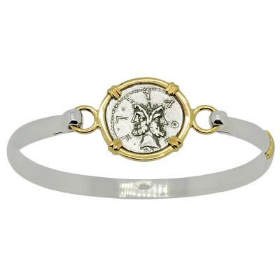 Janus and Roma Denarius Ladies Bracelet