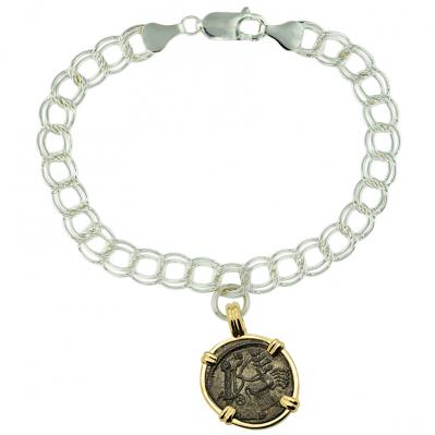 Constantine Hand of God Follis Charm Bracelet