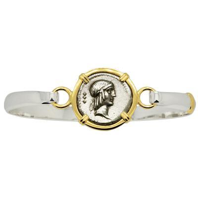 Apollo & Horseman Denarius Ladies Bracelet