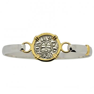 SOLD Crusader Cross Denaro Ladies Bracelet. Please Explore Our Bracelets For Similar Items.