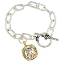 #8432 El Cazador Shipwreck Half Real Charm Bracelet