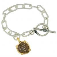 #8711 Widows Mite Charm Bracelet