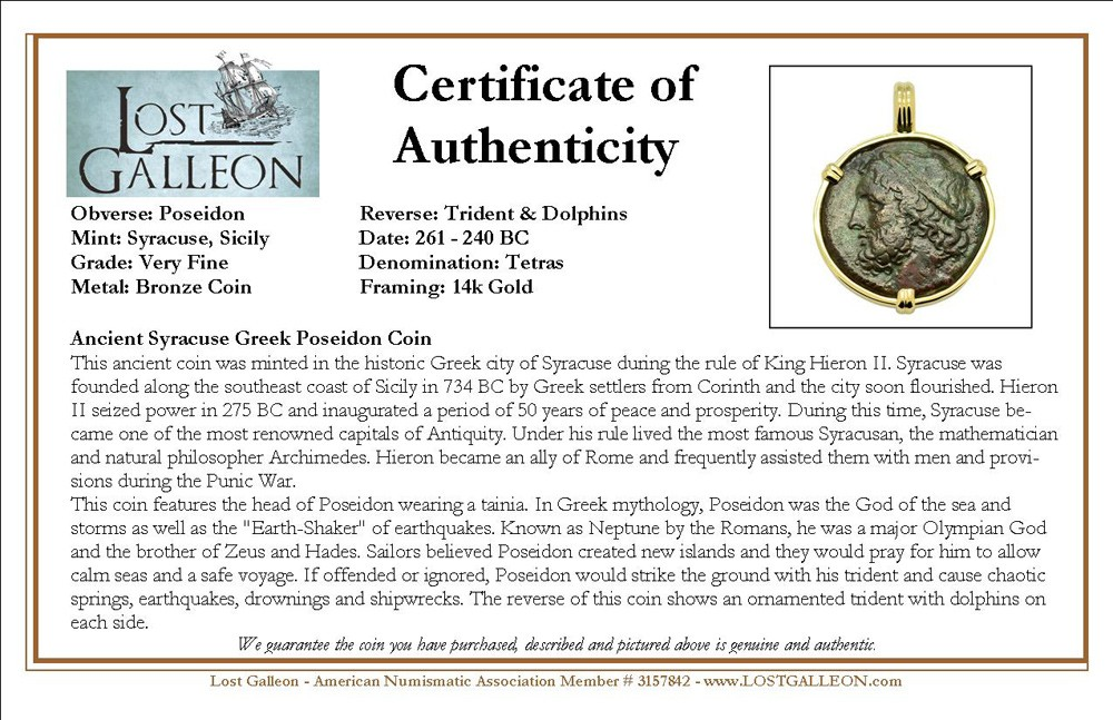 Certificate of Authenticity