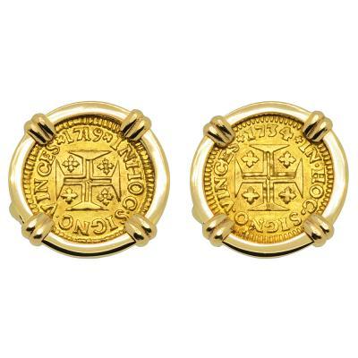 Portuguese 400 Reis Cufflinks