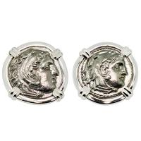 #8850 Alexander the Great Drachm Cufflinks