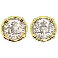 SOLD El Cazador Shipwreck Half Reales Cufflinks; Please Explore Our Cufflinks For Similar Items.