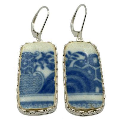 Caribbean Shipwreck Pottery Earrings