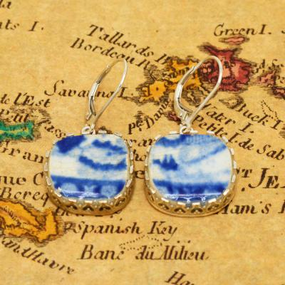 SOLD Caribbean Shipwreck Pottery Earrings. Please Explore Our Earrings For Similar Items.