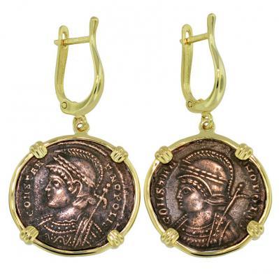 Constantinopolis Follis Earrings