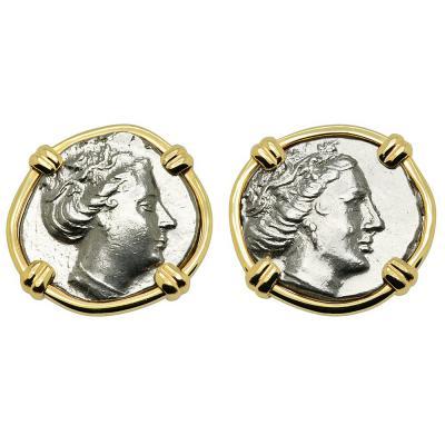 Nymph Histiaia Tetrobol Earrings