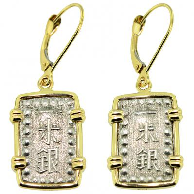 Shogun Isshu Gin Earrings