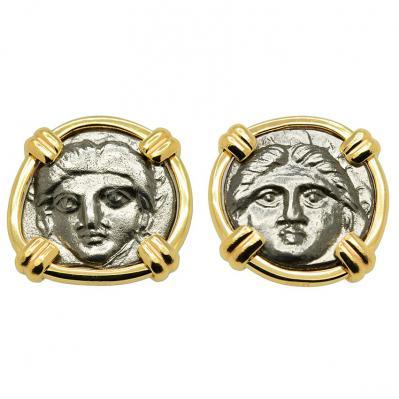 Gorgon Diobol Earrings
