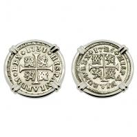 SOLD King Philip V Half Real Earrings. Please Explore Our Earrings For Similar Items.