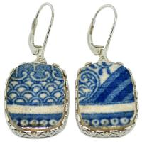 #9016 Caribbean Shipwreck Pottery Earrings