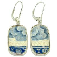 #9115 Caribbean Shipwreck Pottery Earrings
