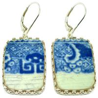 SOLD #9120 Caribbean Shipwreck Pottery Earrings; Please Explore Our Earrings For Similar Items.