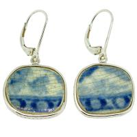 #9520 Caribbean Shipwreck Pottery Earrings