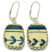 #9521 Caribbean Shipwreck Pottery Earrings