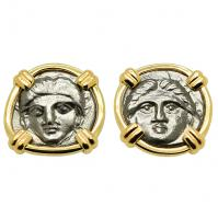Gorgon Diobol Earrings