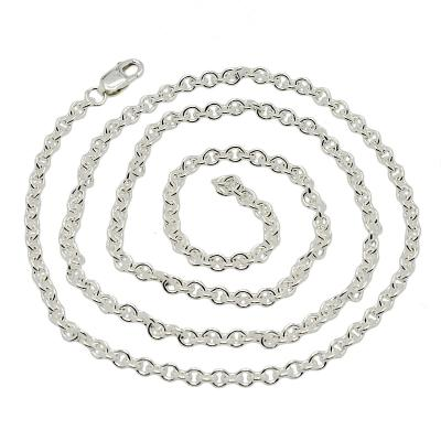 Round Cable 2.8mm Sterling Silver Necklace