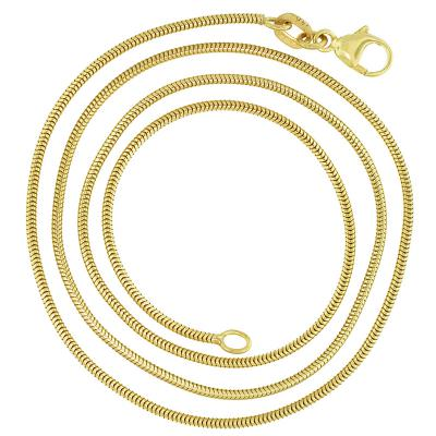 Snake Chain 1.2mm 14K Gold Necklace