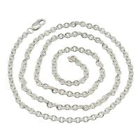 2.8mm Round Cable Chain that goes well with any size Treasure Pendant.