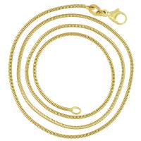 Stylish Woman's 14K snake chain for our smaller to medium sized Treasure Pendants.