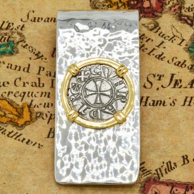 Crusader Cross Denaro Money Clip