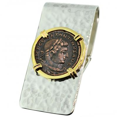 Constantine the Great Follis Money Clip