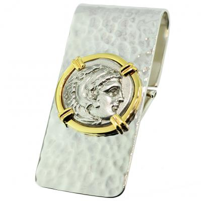 a11b5351834a Genuine Alexander the Great Drachm Money Clip