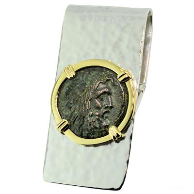 09a224f08f66 Ancient Greek Zeus Coin Money Clip
