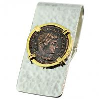 #9148 Constantine the Great Follis Money Clip