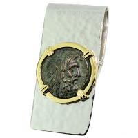 SOLD Zeus Coin Money Clip; Please Explore Our Money Clips For Similar Items.