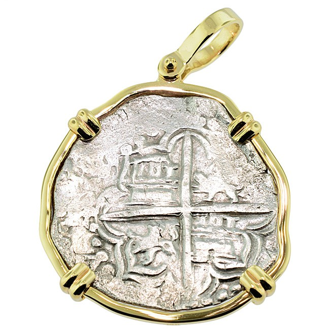 Key west 1622 atocha shipwreck coin gold jewelry for Key west jewelry stores