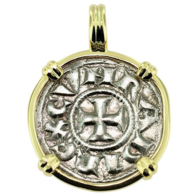 crusader cross coin