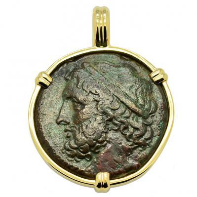 SOLD Poseidon Tetras Pendant; Please Explore Our Greek Pendants For Similar Items.