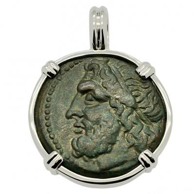 SOLD Poseidon Tetras Pendant; Please Explore Our Greek Pendants For Similar Items.