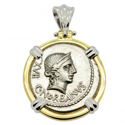 SOLD Venus Denarius Pendant; Please Explore Our Roman Pendants For Similar Items.