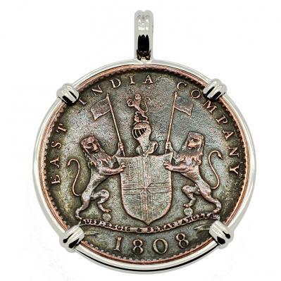 SOLD Admiral Gardner Shipwreck Coin Pendant; Please Explore Our Admiral Gardner Shipwreck Pendants For Similar Items.