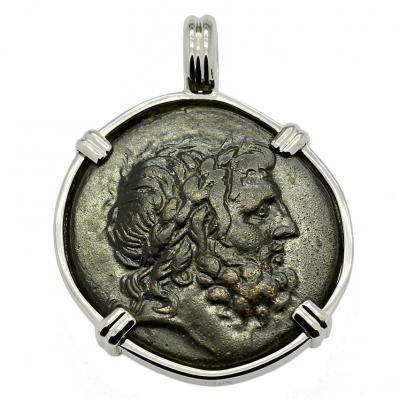 SOLD Zeus and Artemis Pendant. Please Explore Our Greek Pendants For Similar Items.