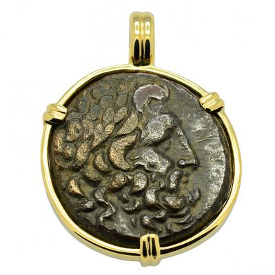 SOLD Asclepius and Serpent Pendant. Please Explore Our Greek Pendants For Similar Items.